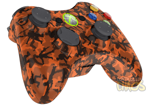 Orange Army Men - XBOX 360 - Modded Controllers